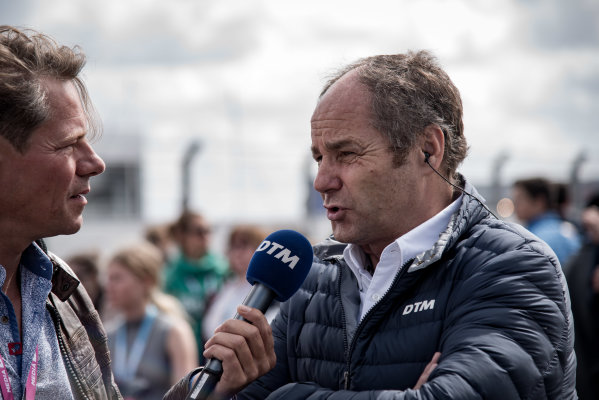2017 DTM Round 6  Circuit Zandvoort, Zandvoort, Netherlands Saturday 19 August 2017 Gerhard Berger, ITR Chairman World Copyright: Mario Bartkowiak/LAT Images ref: Digital Image 2017-08-19_DTM_Zandvoort_R1_0116