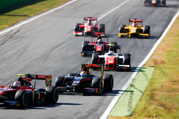 Autodromo Nazionale di Monza, Italy. Sunday 3 September 2017 Roberto Merhi (ESP, Rapax).  Photo: Bloxham/FIA Formula 2 ref: Digital Image _W6I4625