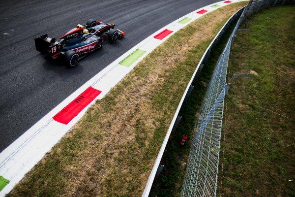 2017 FIA Formula 2 Round 9. Autodromo Nazionale di Monza, Monza, Italy. Friday 1 September 2017. Roberto Merhi (ESP, Rapax).  Photo: Zak Mauger/FIA Formula 2. ref: Digital Image _56I6030