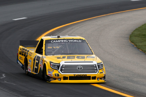 NASCAR Camping World Truck Series UNOH 175  New Hampshire Motor Speedway Loudon, NH USA Friday 22 September 2017 Cody Coughlin, JEGS Toyota Tundra World Copyright: Lesley Ann Miller LAT Images