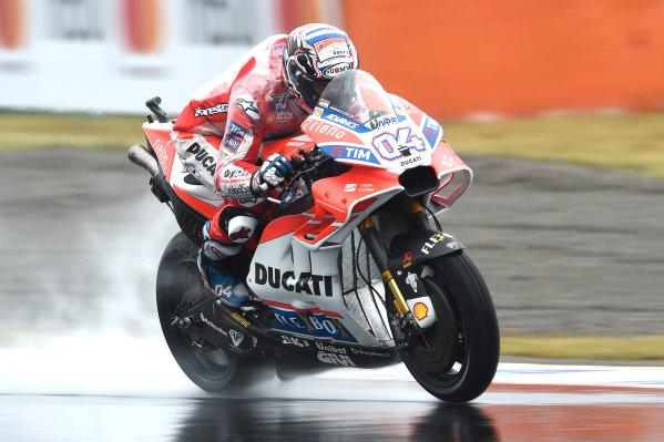 2017 Moto3 Championship - Round 15 Motegi, Japan. Friday 13 October 2017 Andrea Dovizioso, Ducati Team World Copyright: Gold and Goose / LAT Images ref: Digital Image 696295