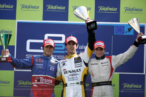 Valencia Street Circuit, Valencia, Spain 24th August.
