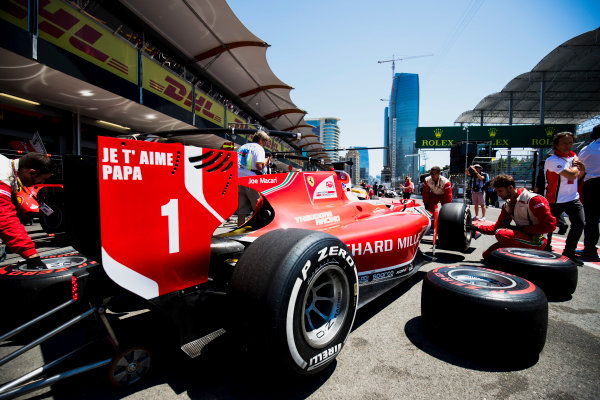 2017 FIA Formula 2 Round 4. Baku City Circuit, Baku, Azerbaijan. Saturday 24 June 2017. Charles Leclerc (MCO, PREMA Racing)  Photo: Zak Mauger/FIA Formula 2. ref: Digital Image _54I1031
