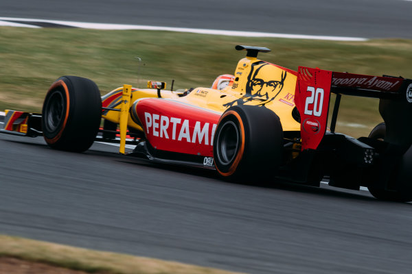 2017 FIA Formula 2 Round 6. Silverstone, Northamptonshire, UK. Sunday 16 July 2017. Norman Nato (FRA, Pertamina Arden).  Photo: Malcolm Griffiths/FIA Formula 2. ref: Digital Image MALC7668