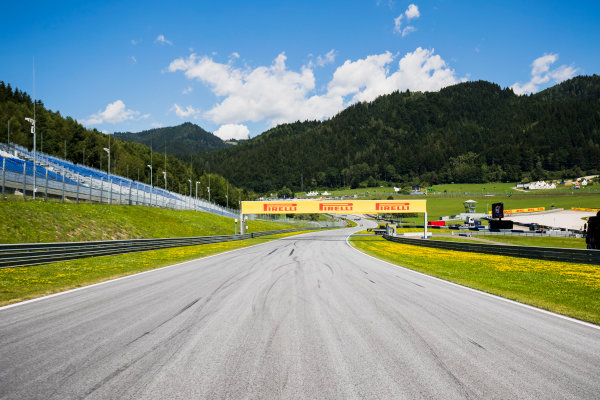 2017 GP3 Series Round 2.  Red Bull Ring, Spielberg, Austria. Thursday 6 July 2017. A view of the track. Photo: Zak Mauger/GP3 Series Media Service. ref: Digital Image _56I9973