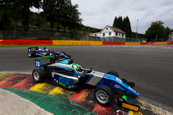 2016 BRDC F3 Championship, Spa-Francorchamps, Belgium. 7th - 9th July 2016. Thomas Maxwell (AUS) Sean Walkinshaw Racing BRDC F3. World Copyright: Ebrey / LAT Photographic.