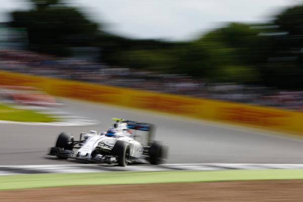 Silverstone, Northamptonshire, UK Friday 8 July 2016. Valtteri Bottas, Williams FW38 Mercedes. World Copyright: Hone/LAT Photographic ref: Digital Image _ONZ9946