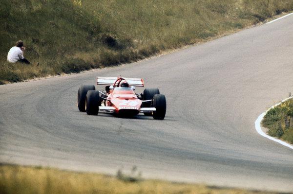 Zandvoort, Holland. 19-21 June 1970.Clay Regazzoni (Ferrari 312B), 4th position, action. World Copyright: LAT Photographic.Ref:  70HOL37.