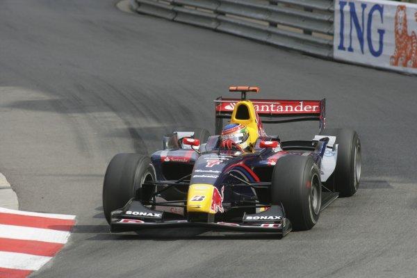 2007 GP2 Series. Round 3. Saturday Race.Monte-Carlo, Monaco. 26th May 2007.Bruno Senna (BRA, Arden International). Action. World Copyright: Andrew Ferraro/GP2 Series Media Service ref: Digital ImageZP9O1076