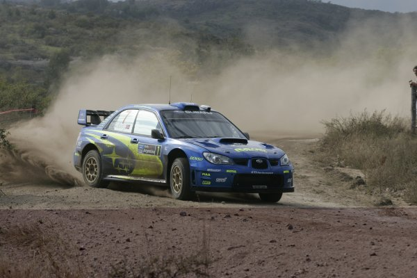 2007 FIA World Rally Champs. Round 6Rally Argentina, 3 May - 6 May Petter Solberg, Subaru, actionWorld Copyright: McKlein/LAT
