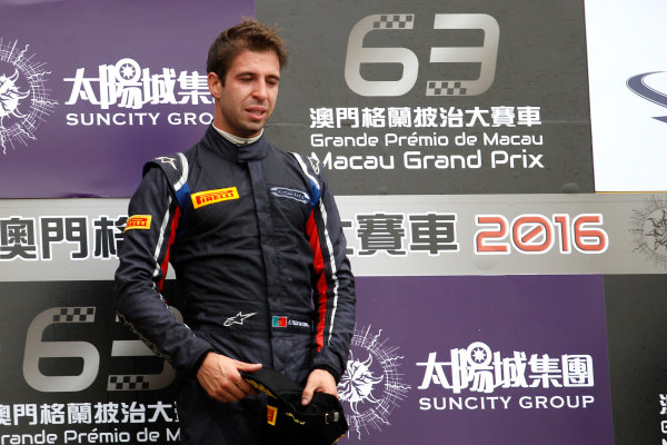 2016 Macau Formula 3 Grand Prix Circuit de Guia, Macau, China 17th - 20th November 2016 Podium: Race winner Ant?nio Felix da Costa (PRT) Carlin Dallara Volkswagen. World Copyright: XPB Images/LAT Photographic ref: Digital Image XPB_855381_HiRes