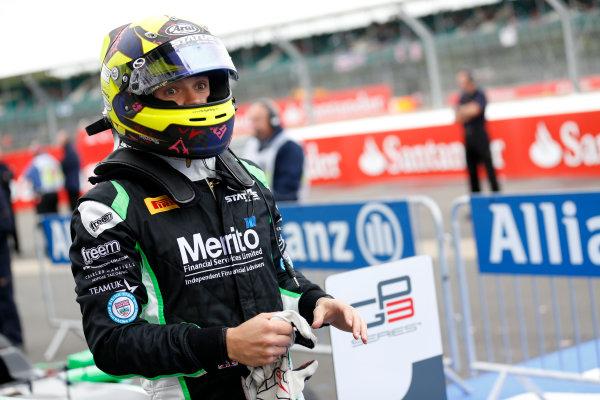 2014 GP3 Series Round 3. Silverstone International Circuit, Silverstone, Northamptonshire, England Sunday 6 July 2014. Nick Yelloly (GBR, Status Grand Prix)  Photo: Adam Warner/GP3 Series Media Service. ref: Digital Image _SBL7703