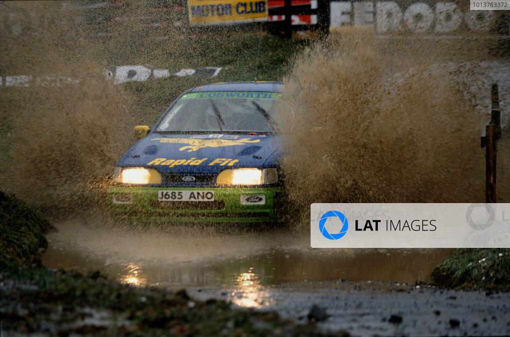 1992 Lombard RAC Rally.