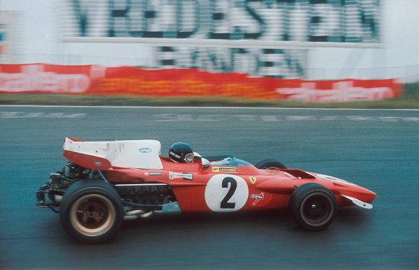 1971 Dutch Grand Prix.Zandvoort, Holland.18-20 June 1971.Jacky Ickx (Ferrari 312B2) 1st position.Ref-71 HOL 59.World Copyright - LAT Photographic