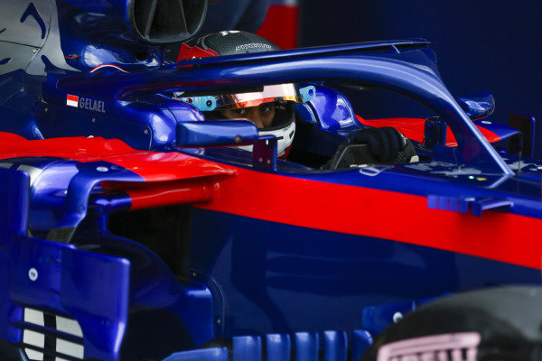 Sean Gelael, Toro Rosso.