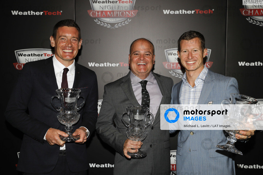 2018 WeatherTech Night of Champions, #67 Chip Ganassi Racing Ford GT, GTLM: Ryan Briscoe, Richard Westbrook, Mike O'Gara