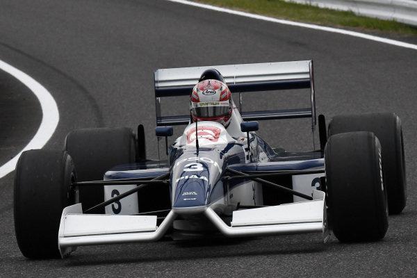 Kazuki Nakajima, Tyrrell 019 at Legends F1 30th Anniversary Lap Demonstration