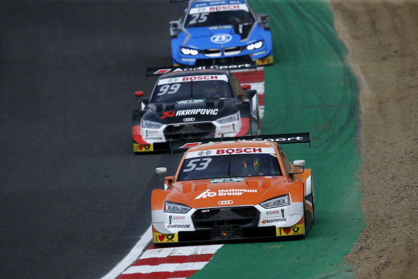 Jamie Green, Audi Sport Team Rosberg, Audi RS 5 DTM, Mike Rockenfeller, Audi Sport Team Phoenix, Audi RS 5 DTM.