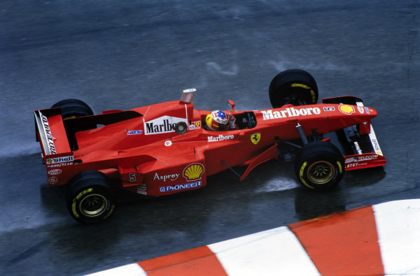 Michael Schumacher, Ferrari F310B.