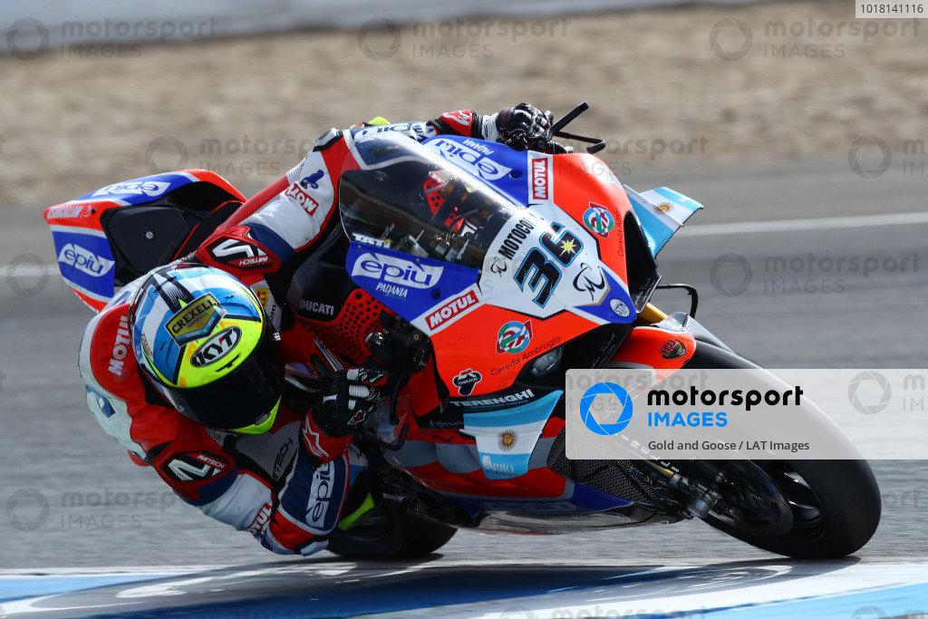 Leandro Mercado, Motocorsa Racing .