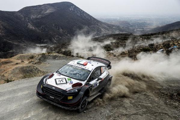Lorenzo Bertelli (ITA) / Simone Scattolin (ITA), M-Sport World Rally Team Ford Fiesta RS WRC at World Rally Championship, Rd3, Rally Mexico, Day Two, Leon, Mexico, 11 March 2017.