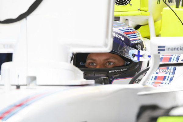 Valtteri Bottas (FIN) Williams FW38 at Formula One World Championship, Rd19, Mexican Grand Prix, Qualifying, Circuit Hermanos Rodriguez, Mexico City, Mexico, Saturday 29 October 2016.
