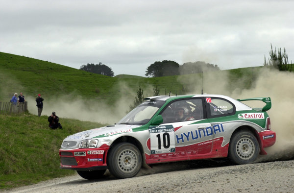 2001 World Rally Championship.Rally of New Zealand. September 20-23, 2001.Auckland, New Zealand.Alister McRae during shakedown.Photo: Ralph Hardwick/LAT