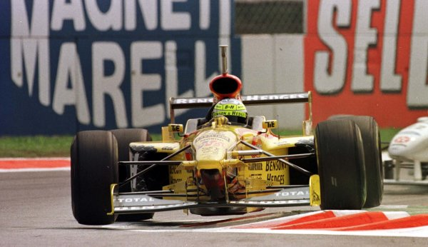 1997 Italian Grand Prix.Monza, Italy.5-7 September 1997.Giancarlo Fisichella (Jordan 197 Peugeot).World Copyright - Elford/LAT Photographic