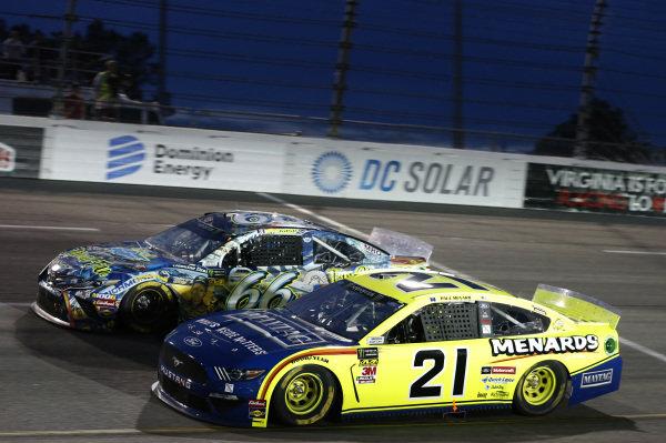 #21: Paul Menard, Wood Brothers Racing, Ford Mustang Menards / Maytag