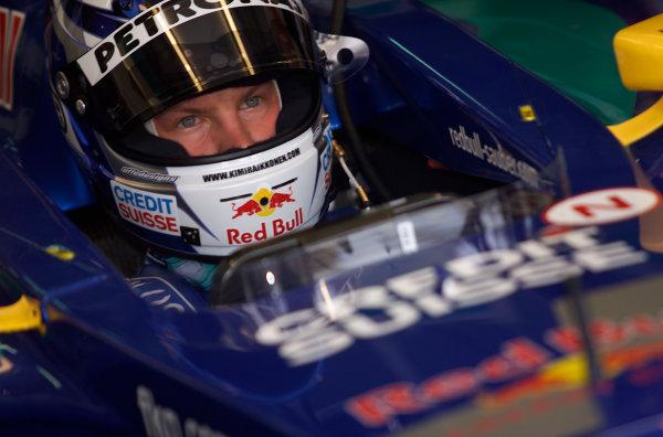 2001 Malaysian Grand Prix.Sepang, Kuala Lumpur, Malaysia. 16-18 March 2001.Kimi Raikkonen (Sauber Petronas).World Copyright - Steve Etherington/LAT Photographic.ref: 18mb Digital Image