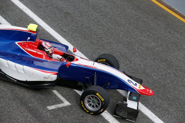 2014 GP3 Series Test 1. Estoril, Portugal.  Thursday 19 March 2015. Jann Mardenborough, (GBR, Carlin)  Photo: Sam Bloxham/GP3 Series Media Service. ref: Digital Image _SBL0738