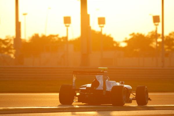 2014 GP3 Series Test 3.   Yas Marina Circuit, Abu Dhabi, United Arab Emirates. Saturday 29 November 2014. Matheo Tuscher (SUI, Jenzer Motorsport)   Photo: Sam Bloxham/GP3 Series Media Service. ref: Digital Image _14P2978
