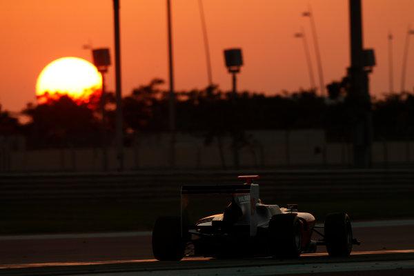 2014 GP3 Series Test 3.   Yas Marina Circuit, Abu Dhabi, United Arab Emirates. Saturday 29 November 2014. Riccardo Agostini (ITA, Hilmer Motorsport)  Photo: Sam Bloxham/GP3 Series Media Service. ref: Digital Image _14P3036