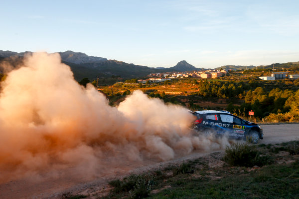 2014 World Rally Championship Rally de España 23rd - 26th October September 2014 Mikko Hirvonen, Ford, Action Worldwide Copyright: McKlein/LAT