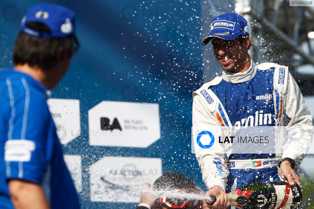 2014 Formula E  Buenos Aires e-Prix, Argentina Saturday 10 January 2015. Antonio Felix Da Costa (POR)/Amlin Aguri - Spark-Renault SRT_01E  Photo: Sam Bloxham/LAT/Formula E ref: Digital Image _G7C8190