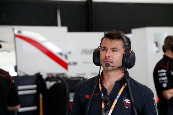 Miami e-Prix Race 2015. Oriol Servia - Director of Racing at Dragon Racing.  FIA Formula E World Championship. Miami, Florida, USA. Saturday 14 March 2015.  Copyright: Adam Warner / LAT / FE ref: Digital Image _L5R4109