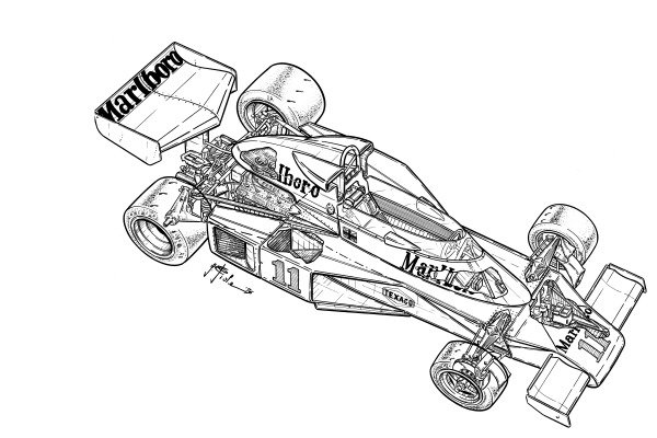 McLaren M23B 1976 detailed overview