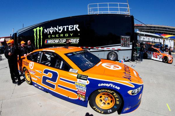2017 Monster Energy NASCAR Cup Series - Fold of Honor QuikTrip 500 Atlanta Motor Speedway, Hampton, GA USA Friday 3 March 2017 Brad Keselowski World Copyright: Matthew T. Thacker/LAT Images ref: Digital Image 17ATL1mt1090