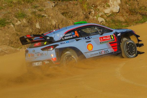 2017 FIA World Rally Championship, Round 06, Rally Portugal, May 18 - 21 2017, Hayden Paddon, Hyundai, action, Worldwide Copyright: McKlein/LAT