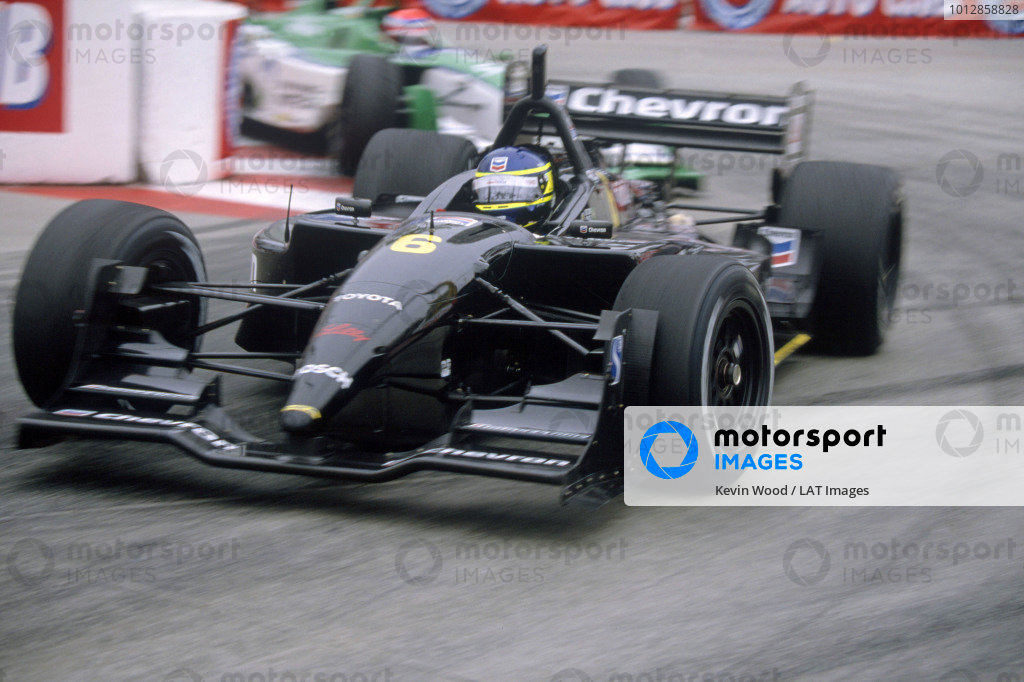2002 CART ChampCar World SeriesLong Beach, CA, USA Cristiano Da Matta (Newman Haas Toyota). Action.World Copyright: Kevin Wood/LAT Photographicref: 35mm Transparency Image