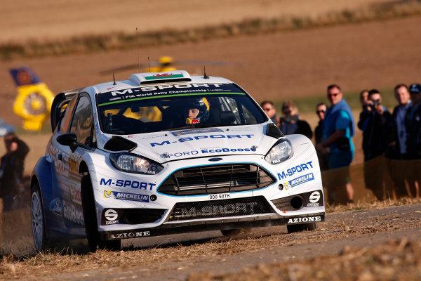 2015 World Rally Championship Rally Deutschland August 20-23, 2015 Elfyn Evans, Ford, action  Worldwide Copyright: McKlein/LAT