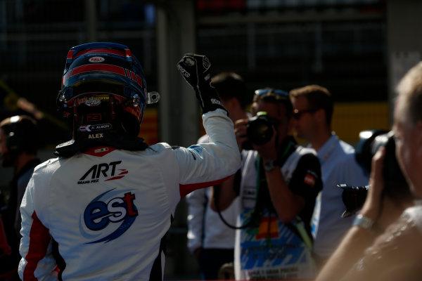 2016 GP3 Series Round 1 Circuit de Catalunya, Barcelona, Spain. Sunday 15 May 2016. Alexander Albon (THA, ART Grand Prix)  Photo: Sam Bloxham/GP3 Series Media Service. ref: Digital Image _R6T9419