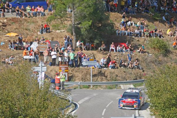Round 11 Rally Catalunya 01-04 October 2009Sebastien Loeb, Citroen, ActionWorldwide Copyright: McKlein/LAT