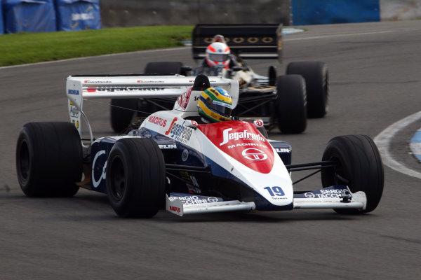 2014 British Formula 3 International Series, Media Day. Donington Park, Leicestershire. 8th April 2014. Bruno Senna (BRA) Toleman HartWorld Copyright: Jakob Ebrey / LAT Photographic