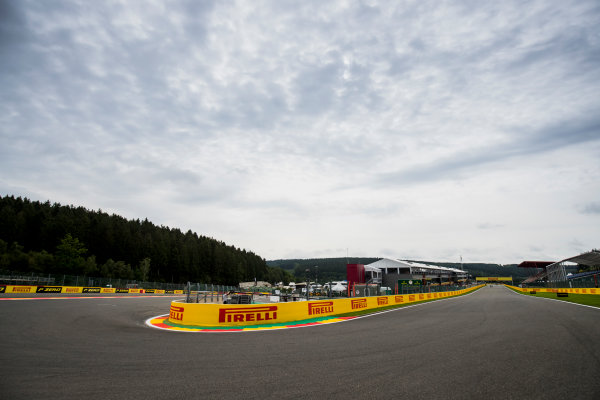 2017 GP3 Series Round 5.  Spa-Francorchamps, Spa, Belgium. Thursday 24 August 2017. A view of the track. Photo: Zak Mauger/GP3 Series Media Service. ref: Digital Image _54I9489