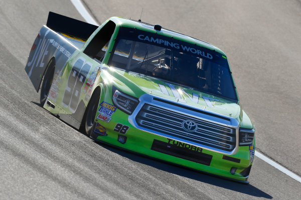 NASCAR Camping World Truck Series Las Vegas 350 Las Vegas Motor Speedway, Las Vegas, NV USA Saturday 30 September 2017 Grant Enfinger, Jive Toyota Tundra World Copyright: Russell LaBounty LAT Images