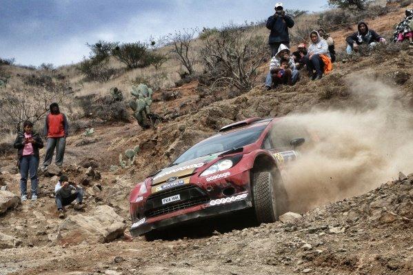 Nasser Al-Attiyah (QAT) / Mattieu Baumel (FRA) Ford Fiesta RS WRC at World Rally Championship, Rd3, Rally Mexico, Day One, Leon, Mexico, 6 March 2015.