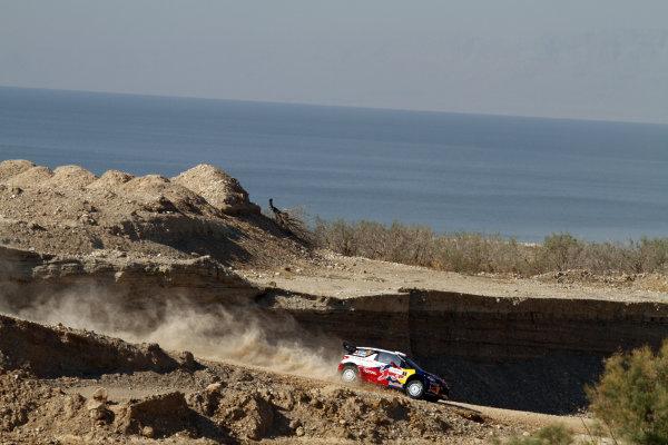 Round 04 Rally Jordan. 14th-16th April 2011.Sebastien Loeb, Citroen WRC, Action.Worldwide Copyright: McKlein/LAT