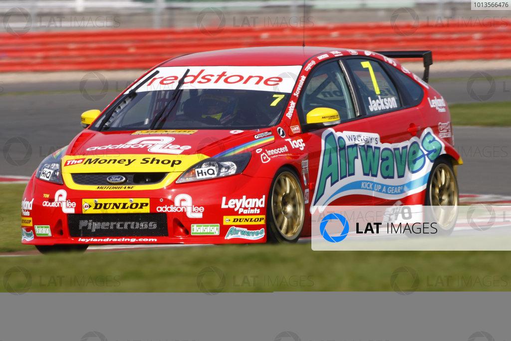 Silverstone, 24th March 2011Mat Jackson (GBR) Airwaves Racing Ford FocusWorld Copyright: Ebrey/LAT Photographic