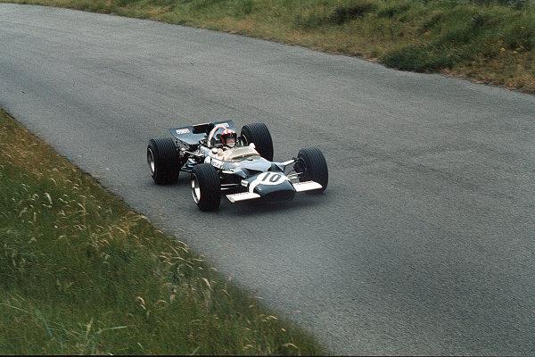 Zandvoort, Holland.19-21 June 1969.Jo Siffert (Lotus 49B Ford) 2nd position.Ref-35mm 69 HOL 21.World Copyright - LAT Photographic
